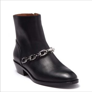 Coach Allen Bootie With Signature Chain NWT